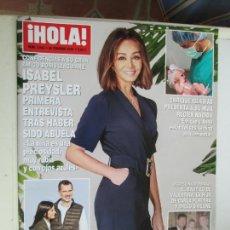 Coleccionismo de Revista Hola: REVISTA HOLA Nº 3943 - FEBRERO 2020 - ISABEL PREYSLER, ENRIQUE IGLESIAS, SIMEONE .... Lote 207134977