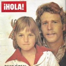 Coleccionismo de Revista Hola: REVISTA HOLA Nº 1513, RYAN O´NEAL, JOHN WAYNE, LILLI PALMER, LIZ TAYLOR. Lote 207392456