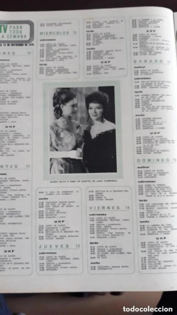 RECORTE REVISTA -- INMA DE SANTIS MARIA SILVA - HOLA 8 NOV 1975 (Coleccionismo - Revistas y Periódicos Modernos (a partir de 1.940) - Revista Hola)