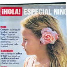 Coleccionismo de Revista Hola: HOLA - ESPECIAL NIÑOS - COCINA - MODA - DECORACIÓN - SALUD. Lote 207427300