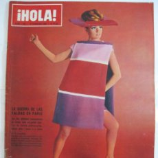 Collezionismo di Rivista Hola: ¡HOLA! NUM. 1.120 - 12 FEBRERO 1966 - GUERRA DE LAS FALDAS EN PARIS. Lote 209204697