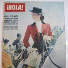 Coleccionismo de Revista Hola: ¡HOLA! NUM. 1.132 - 7 MAYO 1966 - JACQUELINE KENNEDY FERIA SEVILLA. Lote 244471615