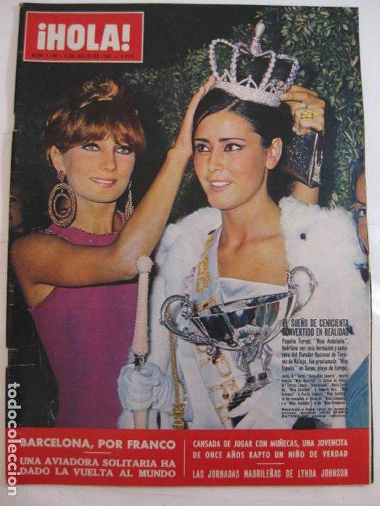 ¡HOLA! NUM. 1.140 - 2 JULIO 1966 - MISS ANDALUCIA (Coleccionismo - Revistas y Periódicos Modernos (a partir de 1.940) - Revista Hola)