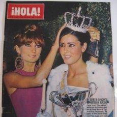 Collezionismo di Rivista Hola: ¡HOLA! NUM. 1.140 - 2 JULIO 1966 - MISS ANDALUCIA. Lote 209207201