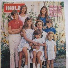 Collezionismo di Rivista Hola: ¡HOLA! NUM. 1.143 - 23 JULIO 1966 - DOÑA CARMEN POLO DE FRANCO. Lote 209207480