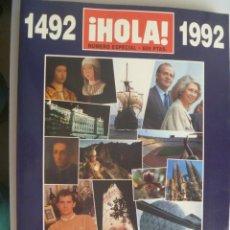 Coleccionismo de Revista Hola: COLECCIONISMO EXPO ´92 DE SEVILLA : NUMERO EXTRA DE ¡ HOLA ! , ESPAÑA 92 TODOS LOS ACONTECIMIENTOS. Lote 245727765