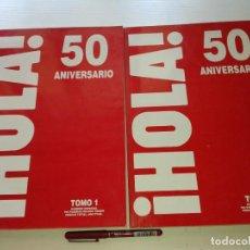 Coleccionismo de Revista Hola: HOLA, 2 TOMOS DEL 50 ANIVERSARIO 1994, T9. Lote 210451877