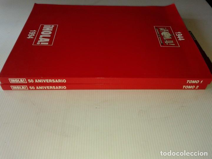 Coleccionismo de Revista Hola: HOLA, 2 TOMOS DEL 50 ANIVERSARIO 1994, T9 - Foto 4 - 210451877