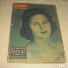 Coleccionismo de Revista Hola: HOLA ! N. 833. LA PRINCESA FAZILET EN BARCELONA.. Lote 210746159
