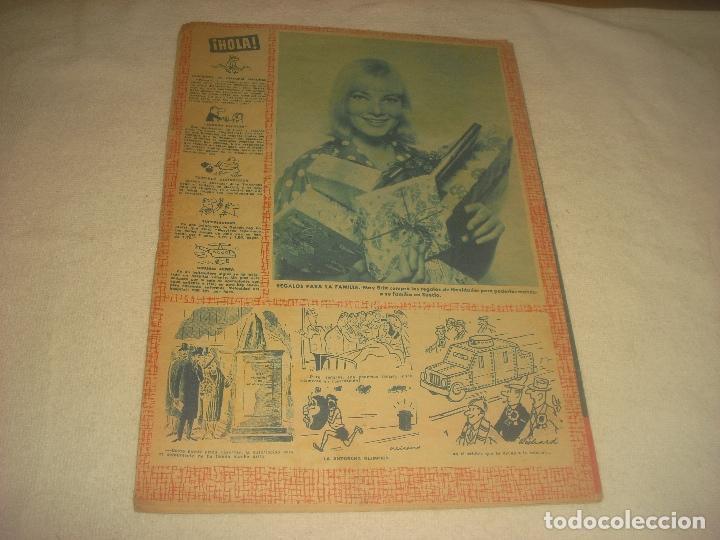 Coleccionismo de Revista Hola: HOLA ! N. 854 , ENERO 1961, BRIGUITA, BALDUINO Y FABIOLA - Foto 2 - 210746765