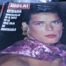 Coleccionismo de Revista Hola: PAUL ANKA ESTEFAMIA DE MONACO CONSTANTINO DE GRECIA 1989 HOLA Nº 2319. Lote 210965482