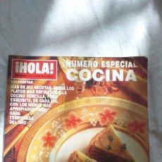 Coleccionismo de Revista Hola: REVISTA DE NAVIDAD DE COCINA DE HOLA CON MAS DE 400 RECETAS. Lote 211501222