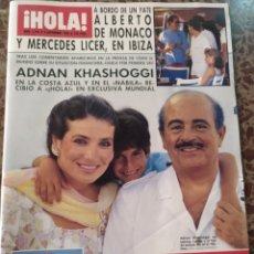Coleccionismo de Revista Hola: HOLA NUM 2193 2 SEPTIEMBRE 1986.ADNAN KHASHOGGI. Lote 211562081