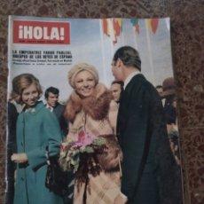 Coleccionismo de Revista Hola: HOLA NUM 1645, 6 MARZO 1976. FARAH PAHLEVI. Lote 211564975