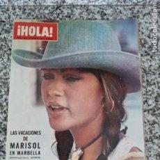 Coleccionismo de Revista Hola: HOLA 1.408 AÑO 1971.MARISOL ETC... Lote 212667080
