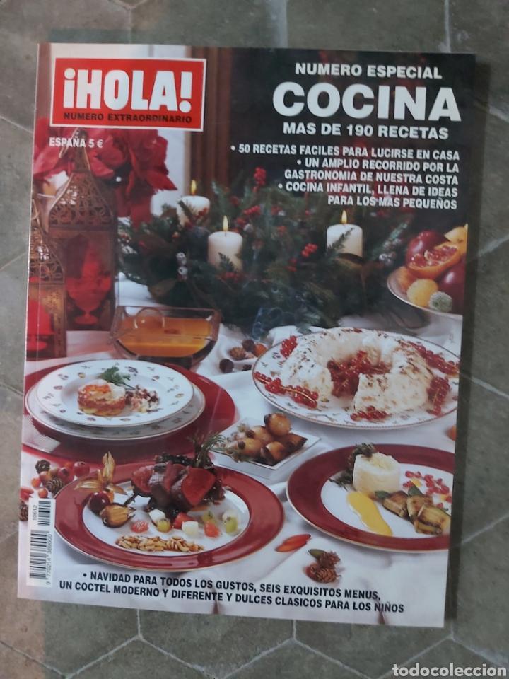 HOLA NÚMERO ESPECIAL COCINA MÁS DE 190 RECETAS (Coleccionismo - Revistas y Periódicos Modernos (a partir de 1.940) - Revista Hola)