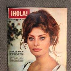Coleccionismo de Revista Hola: HOLA. REVISTA DE SOCIEDAD, NO.965, SOFÍA LOREN (23 DE FEBRERO DE 1963). Lote 213165425