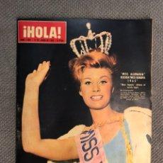 Collectionnisme de Magazine Hola: HOLA. REVISTA DE SOCIEDAD, NO.1085, MISS ALEMANIA, ELEGIDA MISS EUROPA (12 DE JUNIO DE 1965). Lote 213169262