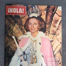 Coleccionismo de Revista Hola: HOLA. REVISTA DE SOCIEDAD, NO.1083, ALÍCIA BORRAS. MISS BARCELONA (29 DE MAYO DE 1965). Lote 213170262