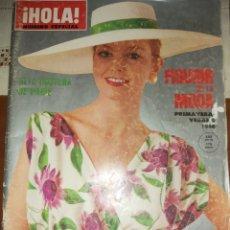 Coleccionismo de Revista Hola: HOLA N° ESPECIAL ALTA COSTURA DE PARÍS FIGURÍN DE LA MODA PRIMAVERA VERANO 1980. Lote 213395766
