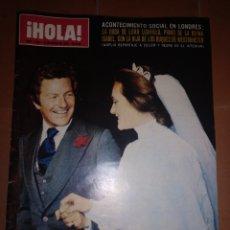 Coleccionismo de Revista Hola: HOLA NUM 1595, 22 MARZO 1975. Lote 213462883