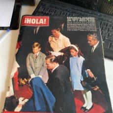 Coleccionismo de Revista Hola: HOLA. Lote 213882880