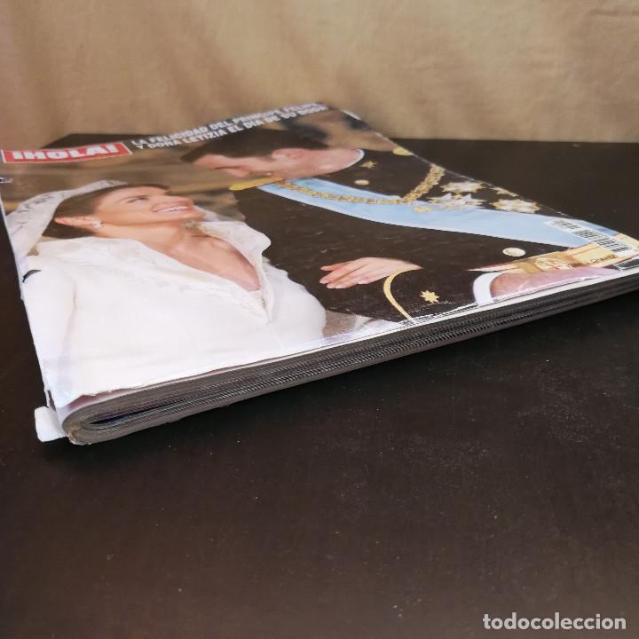 Coleccionismo de Revista Hola: REVISTA HOLA Nº3122 - 2004 - LA FELICIDAD DEL PRÍNCIPE FELIPE Y DOÑA LETIZIA EL DÍA DE SU BODA - Foto 3 - 214046497