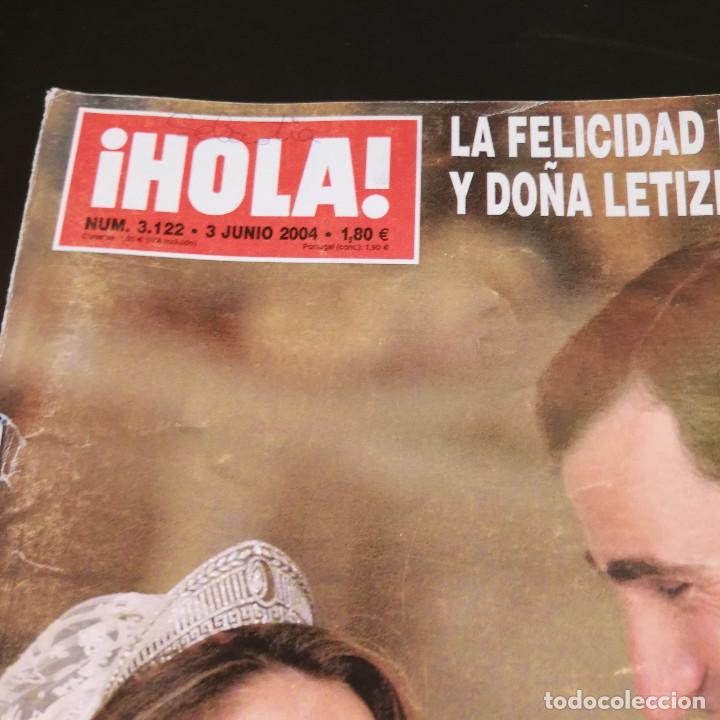 Coleccionismo de Revista Hola: REVISTA HOLA Nº3122 - 2004 - LA FELICIDAD DEL PRÍNCIPE FELIPE Y DOÑA LETIZIA EL DÍA DE SU BODA - Foto 4 - 214046497