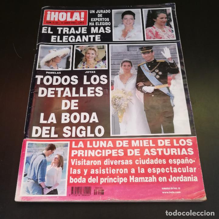 REVISTA HOLA Nº3123 - 2004 - TODOS LOS DETALLES DE LA BODA DEL SIGLO (Coleccionismo - Revistas y Periódicos Modernos (a partir de 1.940) - Revista Hola)