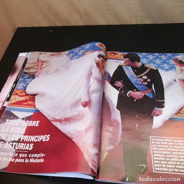 Coleccionismo de Revista Hola: REVISTA HOLA Nº3123 - 2004 - TODOS LOS DETALLES DE LA BODA DEL SIGLO - Foto 2 - 214046662