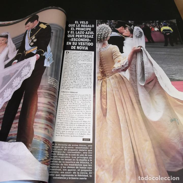 Coleccionismo de Revista Hola: REVISTA HOLA Nº3123 - 2004 - TODOS LOS DETALLES DE LA BODA DEL SIGLO - Foto 3 - 214046662