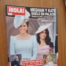 Coleccionismo de Revista Hola: REVISTA HOLA Nº 3.855 - MEGHAN Y KATE DUELO EN PALACIO - 2018. Lote 214117616