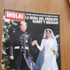 Coleccionismo de Revista Hola: REVISTA HOLA Nº 3.852 - LA BODA DEL PRINCIPE HARRI Y MEGHAN - 2018. Lote 214119013
