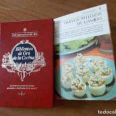 Coleccionismo de Revista Hola: BIBLIOTECA DE ORO DE LA COCINA -TOMO 27 -VER DESCRIPCIÓN DE LAS RECETAS. Lote 214121036