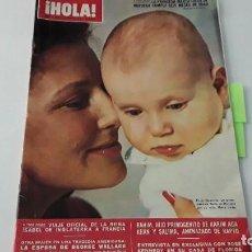 Coleccionismo de Revista Hola: REVISTA HOLA! 1972. LOLA FLORES.. Lote 214136208