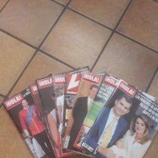 Coleccionismo de Revista Hola: LOTE DE REVISTAS HOLA! Y LECTURAS. Lote 214137906