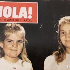 Coleccionismo de Revista Hola: REVISTA HOLA! 1972. CONGRESO EUCARÍSTICO NACIONAL. Lote 214266047