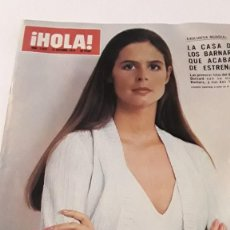 Coleccionismo de Revista Hola: REVISTA HOLA! 1974. ANTONIO ORDÓÑEZ. Lote 214296936