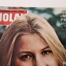 Coleccionismo de Revista Hola: REVISTA HOLA! 1974. MOCEDADES. Lote 214297628