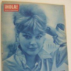 Coleccionismo de Revista Hola: REVISTA HOLA Nº 896.1961 CAROLL BAKER, OLGA DETERDING, MARIA GABRIELA, FARAH, AVA GARDNER. Lote 214797138