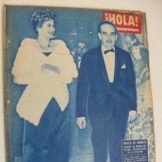 Coleccionismo de Revista Hola: HOLA Nº 859 FALLERA MAYOR DE VALENCIA JACQUELINE KENEDDY ENAMORADA LAS FIESTAS FOLKLORICAS GADITANAS. Lote 214801766
