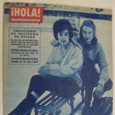 Coleccionismo de Revista Hola: HOLA 855 1961. GSTAAD, JOAN SUTHERLAND, RITA HAYWORTH, SOFIA LOREN, NANUCHKA. Lote 214803600