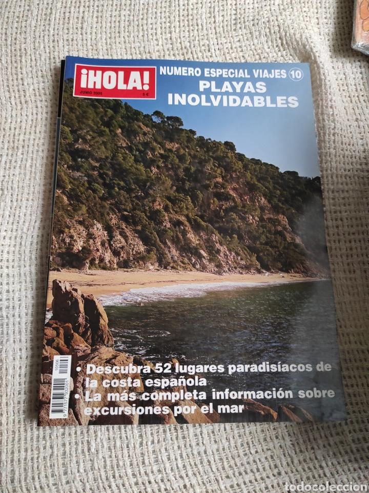 HOLA VIAJES Nº 10 PLAYAS INOLVIDABLES - JUNIO 2005 (Coleccionismo - Revistas y Periódicos Modernos (a partir de 1.940) - Revista Hola)