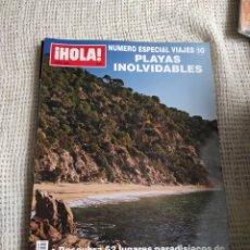 Coleccionismo de Revista Hola: HOLA VIAJES Nº 10 PLAYAS INOLVIDABLES - JUNIO 2005. Lote 214499047