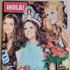 Collezionismo di Rivista Hola: REVISTA ¡HOLA! - Nº 1562 - 1974 - AMPARO MUÑOZ MISS UNIVERSO, MARIOLA Y RAFAEL ARDID. Lote 215473920