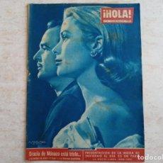 Coleccionismo de Revista Hola: HOLA 830 .AÑO 1960.GRACIA DE MONACO Y RAINIERO MODA PARIS.MARILYN MONROE ETC... Lote 215515023