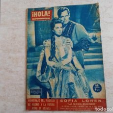 Coleccionismo de Revista Hola: HOLA 850 AÑO 1960.SOFIA LOREN. REINA DE BELGICA.DOMINGUIN Y LUCIA BOSE ETC... Lote 215523258