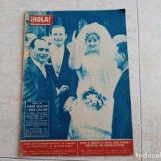 Coleccionismo de Revista Hola: HOLA 915 AÑO 1962..BODA DE MUSSOLINI .PAUL ANKA.REINA ISABEL.SORAYA ETC... Lote 215528925