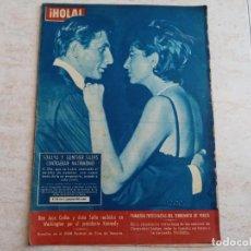 Coleccionismo de Revista Hola: HOLA 941.AÑO 1962.SORAYA Y GUNTHER SACHS.JUAN CARLOS Y SOFIA CON KENNEDY.CINE EN VENECIA ETC. Lote 215529368
