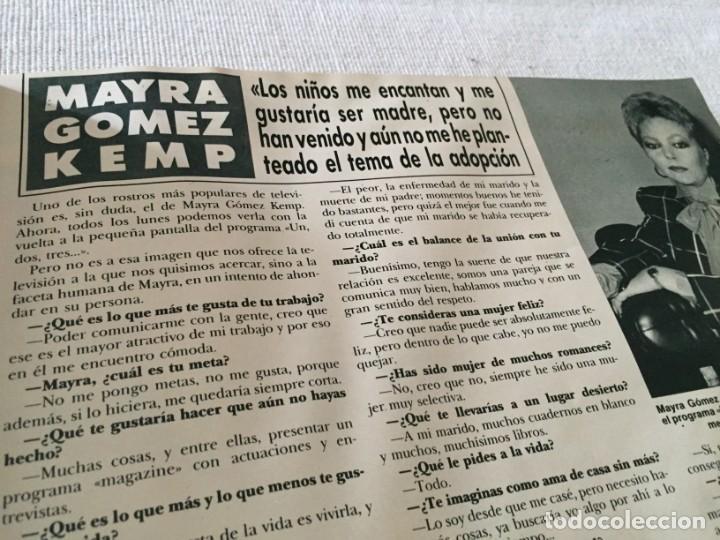 Coleccionismo de Revista Hola: HOLA 1987 MAYRA GOMEZ KEMP ALASKA (FANGORIA) EN LA VISITA DE LOS PRINCIPES DE GALES EN ESPAÑA - Foto 2 - 215990431